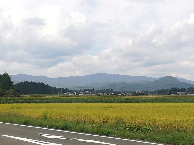 奥羽山脈の画像