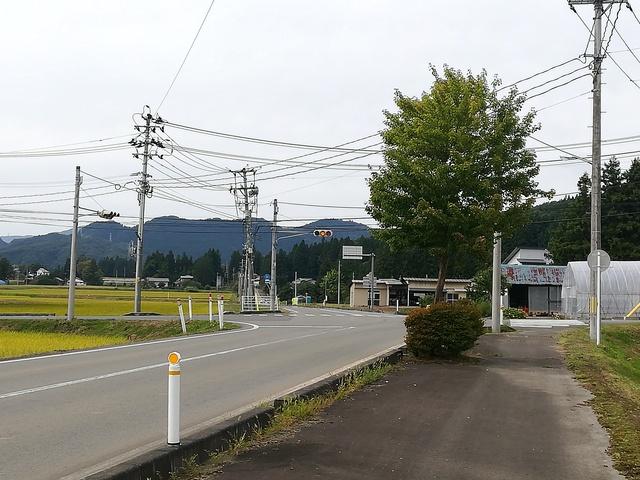 高円万寺浄水場前の交差点の画像