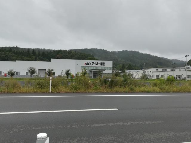 アイオー精密の本社工場