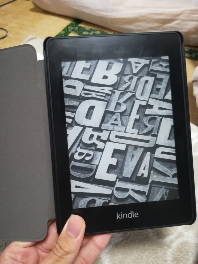 Kindle Paperwhiteの画像