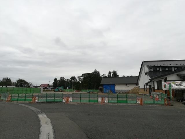 工事中の南部杜氏伝承館