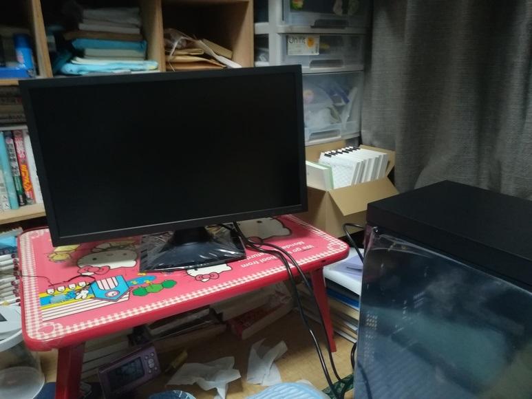 完成した自作PC